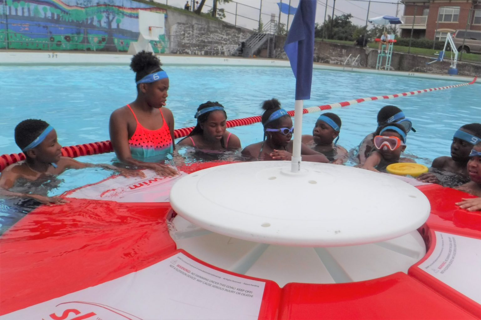 SKWIM's blue team at Citiparks Ammon pool
