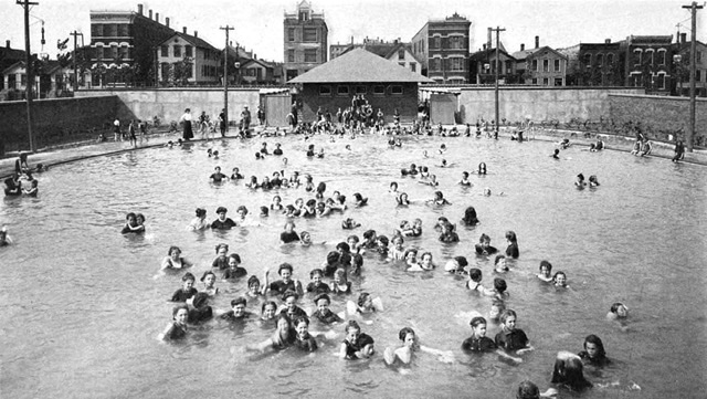 hostoric swim pool photo